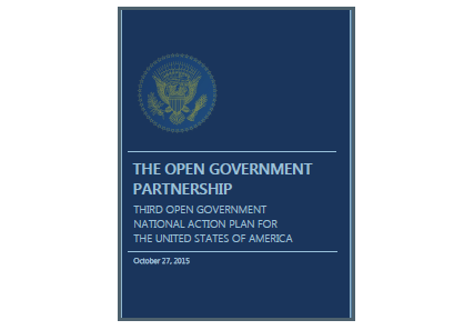 Picture of the new DoD Open Government Plan